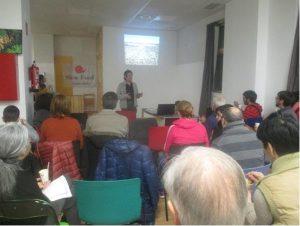 Conferencia-taller sobre pasta ecológica alavesa en Bioalai