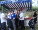 Laboratorio del gusto y degustación de productos locales en Araia