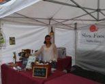 En el Mercado de la Almendra, dedicado al Arabako txakolina
