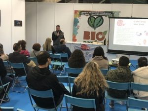 Laboratorio del gusto en Bioaraba 2017