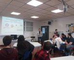 Conferencia-taller con los alumnos de la Escuela de Hostelería de Gamarra