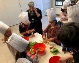 Estand y taller de cocina Slow Food en la feria Salburukolore