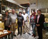 Visita a Araba y Slow Food Araba-Álava de Gerry Warre, Slow Food Regional governor de los estados de Washington y Alaska, expresidente de Ark of Taste de los Estados Unidos